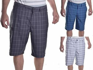 Hurley x Nike Mens Dri Fit Plaid Hybrid Swim Board Shorts Choose Color & Size