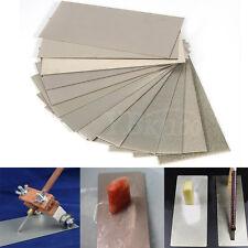 Thin Polishing Diamond Plate Sharpening Stones Whetstone Knife Tool 80-3000 Grit