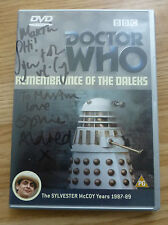 DOCTOR DR WHO - REMEMBRANCE OF THE DALEKS - SYLVESTER MCCOY YEARS - BBC DVD