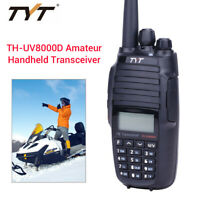 TYT TH-UV8000D 10KM VHF/UHF UV 2-Way FM Amateur Radio 3600mAh 136-174/400-520MHz