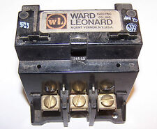 Ward Leonard 7000-7140-21 Definite Purpose Contactor 240VDC 40A, 500VDC 10A Used