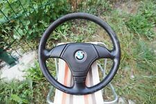 BMW e31 e34 e36 M3 M5 Z3 e39 OEM Leather Sport Steering wheel AirBag Sleep ring.