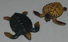 Plastic animal sealife Turtle Turtles  colour details FREE POST UK SELLER S88