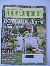 Mary Engelbreit's Home Companion Magazine - June / July 2008 - Paper Doll Includ