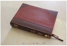 The Academy Study Bible KJV Two Tone Brown, E G White Comments & More BRAND NEW