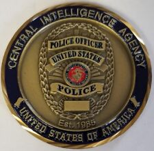 CIA Central Intelligence Agency Special Services Branch BOMB SQUAD USMC Reserves