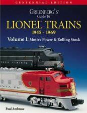 Greenberg's - Lionel Soft Cover Book - Motive Power & Rolling Stock
