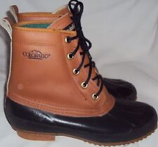 COLORADO, LADIES BROWN LEATHER INSULATED, STEEL SHANK WINTER BOOT, SIZE 7 M