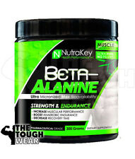 NUTRAKEY BETA ALANINE 300grams POWDER -STRENGTH & ENDURANCE - BOOST MUSCLE GAINS