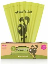 Biodegradable Lavender-scented Earth Rated 300-count Dog Waste Bags 20 X 33 Cm