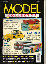 MODEL COLLECTOR Magazine July 1997 EFE Corgi Matchbox Rio Veterans Bus Fleets