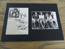 Thin Lizzy Phil Lynott (+' 86) signed autógrafo en 25x35 cm Passepartout inperson
