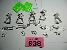 Warhammer 40k Necron Metal Immortals rare out of production Lot R938