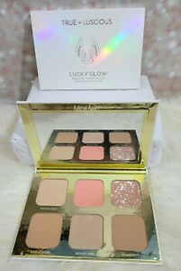True + Luscious Lucky Glow Bronzer And Highlighter Palette BNIB BOXYCHARM