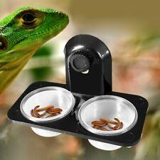 Water Reptile Feeder Feeding Bowl Pot Breeding Holder Dish Terrarium Box Newest