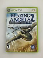 Blazing Angels 2: Secret Missions of WWII - Xbox 360 Game - Complete & Tested