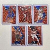2020 Mosaic NBA Tmall Lot (5) Red Wave SSP