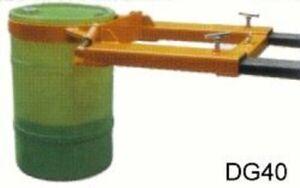 W&J Forklift Drum Grab 110L & 210L - New VAT Included