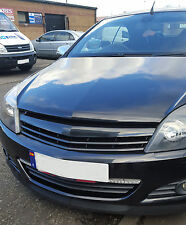 Badgeless slatted car grill compatible with 5 door Vauxhall Opel Astra H mk5