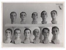 PHOTO MANNEQUIN HOMME NOVITA Surréalisme Surréaliste 1930 Tête Pichonnier GARÇON