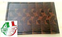 Tagliere in legno di noce walnut cutting boards sotto pentola vassoio cm59x39x4
