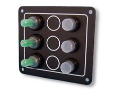 Schaltpaneel Schalttafel mit 3 Schalter wasserdicht NEU