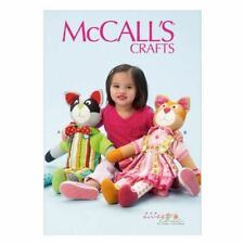 McCall Pattern Company 6980 Learn To Cat and Raccoon, One Size Only
