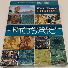 Rick Steves' Europe - Mediterranean Mosaic New! Free Shipping