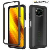 For Xiaomi Poco X3 NFC X3 Pro Case Full-Body Clear Back Shockproof Phone Cover