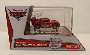 Disney Pixar Cars - RS TEAM LIGHTNING McQUEEN Target Exclusive Display Case 2014