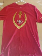 MENS NIKE ATHLETIC CUT SAN FRANCISCO 49ERS T SHIRT SIZE LARGE