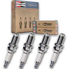 4 pc Champion 354 Copper Spark Plugs RC10DMC - Auto Pre Gapped Ignition fj
