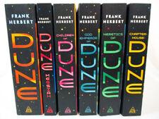 Dune Chronicles by Frank Herbert (Complete 6-Book Series Set MM Paperbacks) NEW