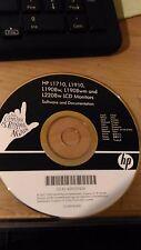CD - HP L1710, L1910, L1908w, L1908wm AND L2208w LCD MONITORS - VEDI FOTO