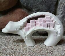 "VTG Jay Kay Ceramic Resin Molds Polar Bear Eskimo Inuit Village Bear Figure 10"""