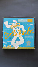 4 Vinyl Records and Insert in A Box from South Pacific by Rca Victor