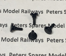 Peters Spares PS107 Replacement Hornby S8911 Round Buffers (Pk4) Plastic