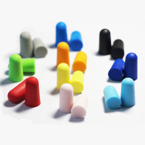 10x Soft Foam Ear Plugs Sleep Earplugs For noise Environment Travel