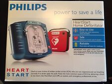 Factory Sealed Philips HeartStart Onsite Defibrillator(AED)+Case, Pads &Battery