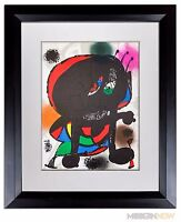 Joan MIRO Lithograph Ltd. Ed. ORIGINAL + Catalogue Ref: c230  +++Archival Frame