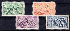 FRANCE 1949 TIMBRE N° 859 à 862 SERIE DES SAISONS ** LUXE