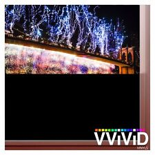 "VViViD Blackout Opaque Matte Window Privacy 1ft x 60"" Vinyl Film Decal Sticker"