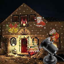 Outdoor LED Image Motion Projection Light With12 Festival Slides Xmas Halloween
