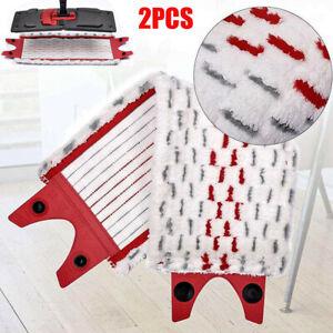For Vileda Ultramax / 1-2 Spray Replacement Refill Mop Head Mop Pads x 2 Pcs