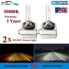 PAIR D3S 30000K 35W Blue 12V HID XENON HEADLIGHT BULB LAMP For Osram Or Philips