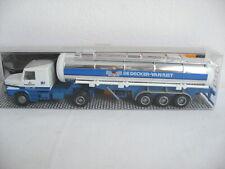 "Z173* Albedo 1:87 Scania  ""De Decker Van Riet"" Chrom-Tanksattelzug OVP TOP"