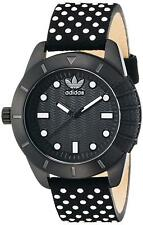 Adidas Women's ADH3053 ADH-1969 Black Leather Watch