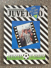 More details for 1983 - juventus v paris st germain programme - cup winners cup 2nd rd - 83/84