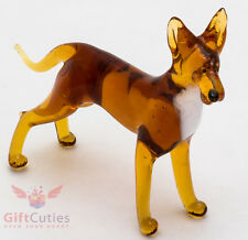 Art Blown Glass Figurine of the Pharaoh Hound dog