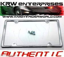 1982-92 PONTIAC FIREBIRD KNIGHT RIDER K2000 KITT KARR LICENSE PLATE HOLDER FRAME